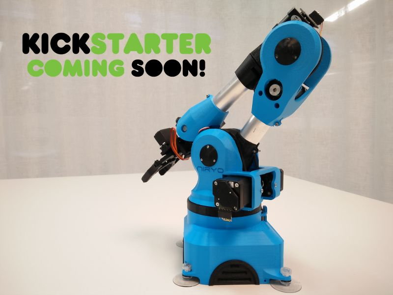 niryo one soon on kickstarter