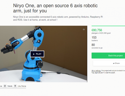 Niryo One has been successfully funded on Kickstarter : what's next ?
