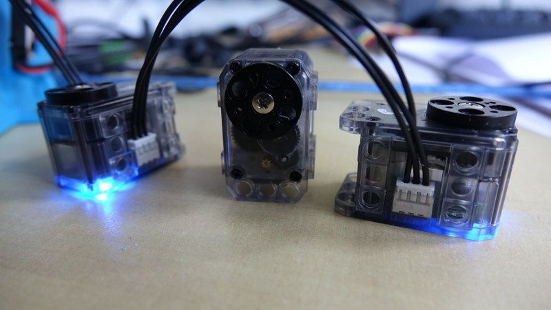 dynamixel servomotor for robotics project