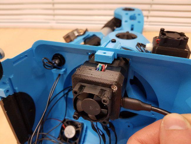 Niryo Steppers - micro USB motor 1