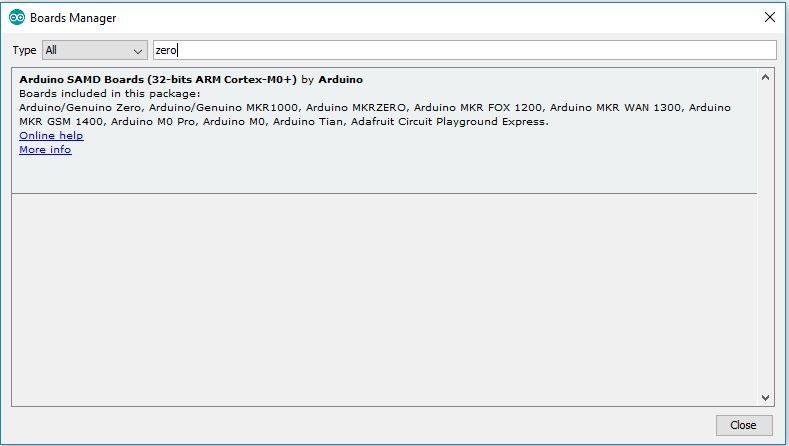 Update Niryo Steppers - arduino zero