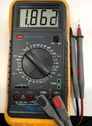 Niryo One Multimeter debug