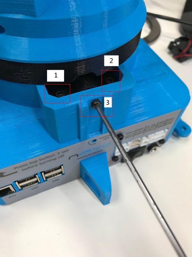 Tense belt axis 1