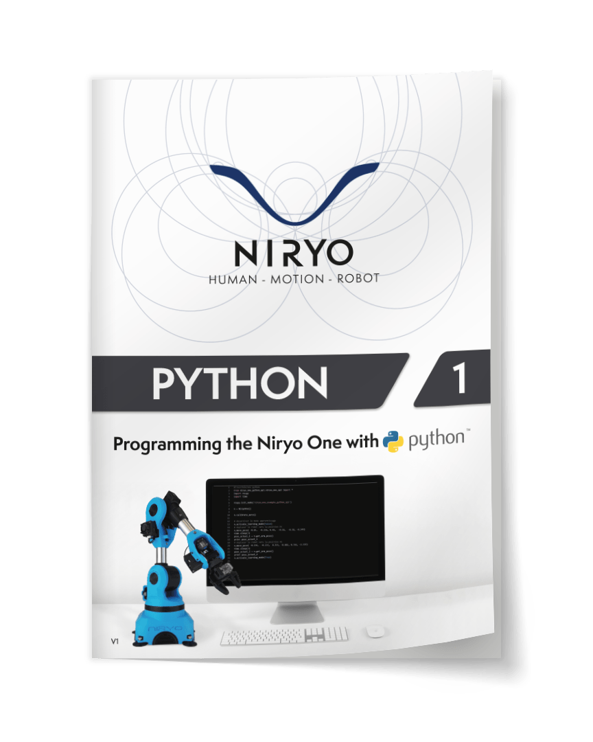Cover of the Python Curriculum in english.