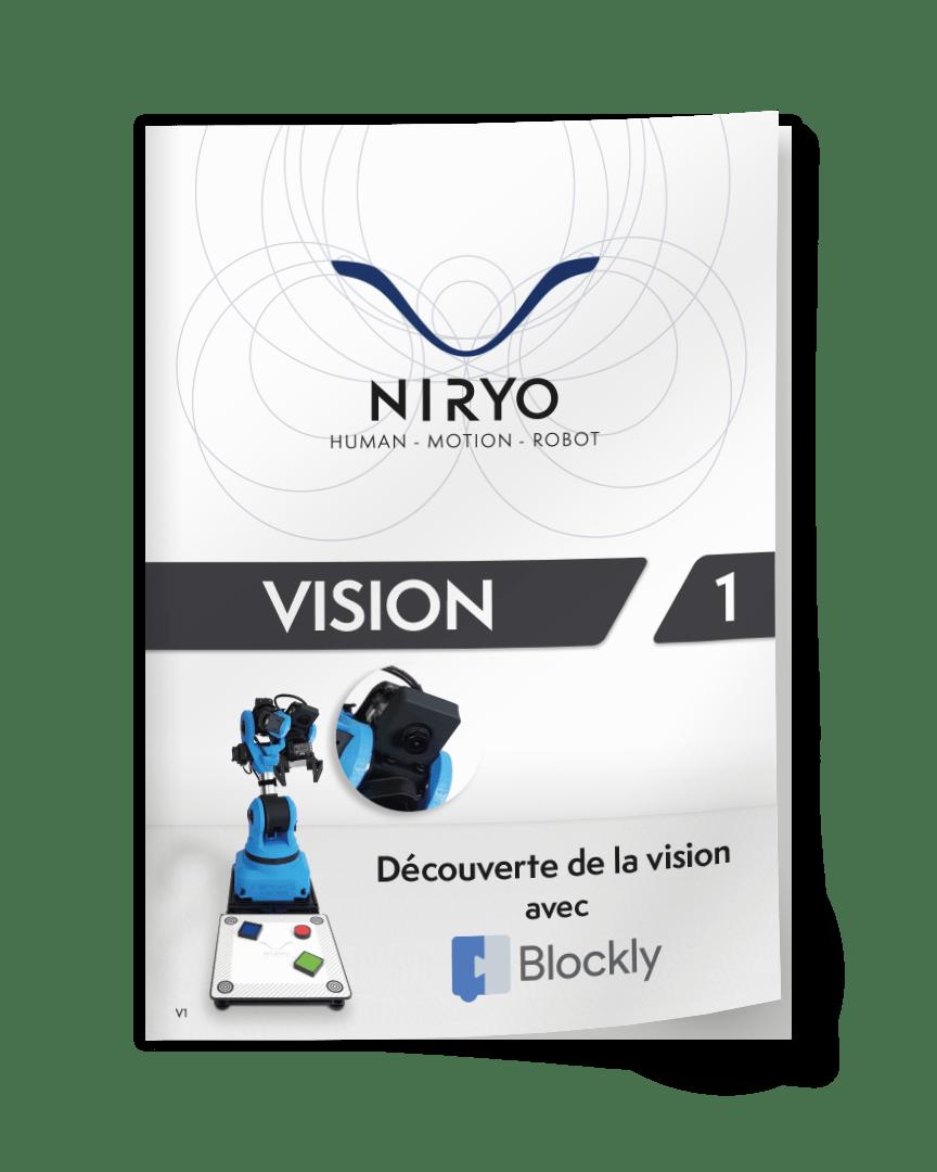 Couverture du TP Vision avec Blockly en français