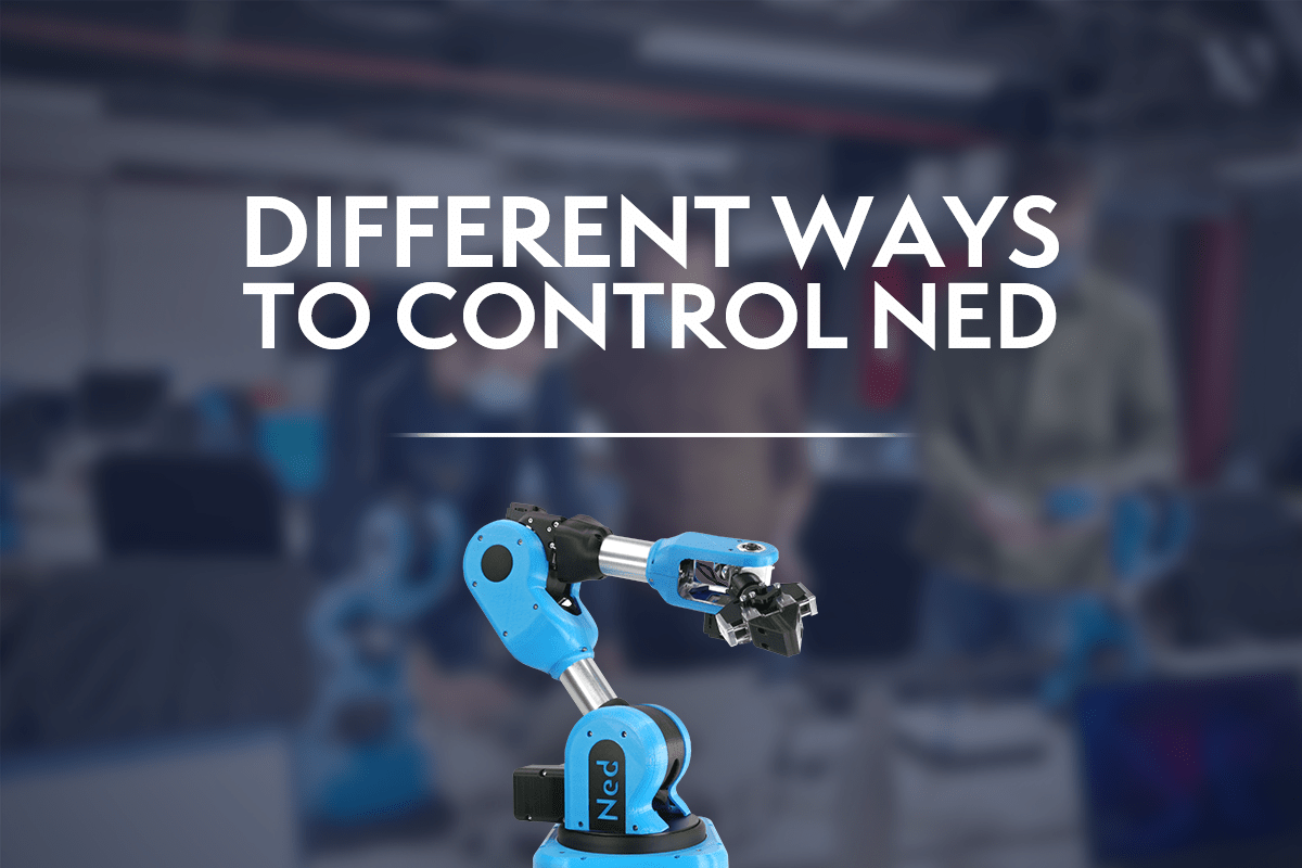 """Visual with the title of the article """"different ways to control Ned"""""""